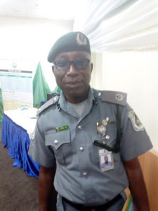Nelson Ochai, Head of Export Desk, Apapa Customs Command