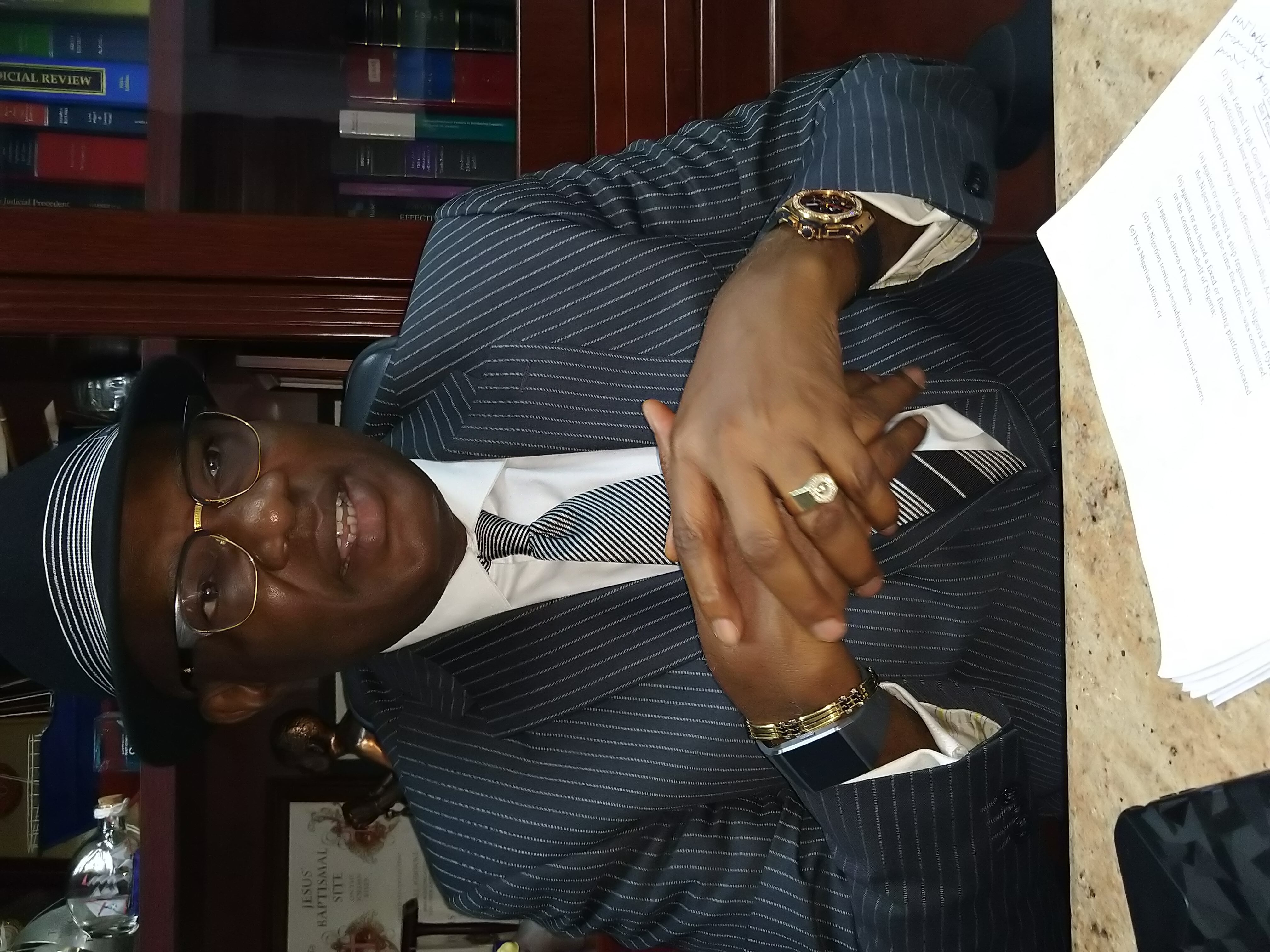Mr Mike Igbokwe, Senior Advocate of Nigeria