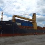 MV Boreas berths at ECM Terminal, Calabar