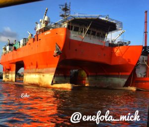 ***Maritime Photo of the Day is by Echo Photography founded by Micheal Obaje Enefola, a marine engineer who loves the sea and captures each moment there.