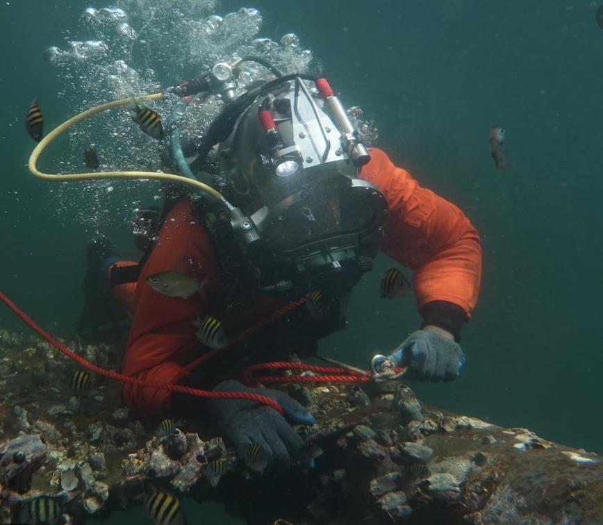 Nigeria diving operations